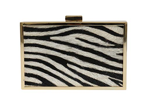 Box Womens Cavalli 200 Roberto for Black HXLPA7 White Clutch qXxpdpTw8