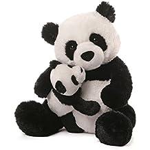 GUND Panda & Baby Plush, ...