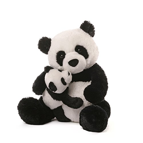 Gund Panda & Baby Plush, 12