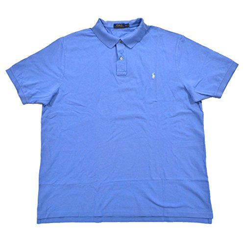 d2343b248cf2aa Galleon - Polo Ralph Lauren Men's Big & Tall Classic Fit Weathered Cotton  Mesh Polo Shirt (2XB, Nantucket Blue)