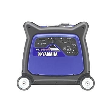 Yamaha EF6300iSDE, 5500 Running Watts/6300 Starting Watts, Gas Powered Portable Inverter Generator