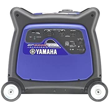 Yamaha EF6300iSDE, 5500 Running Watts/6300 Starting Watts, Gas Powered Portable Inverter