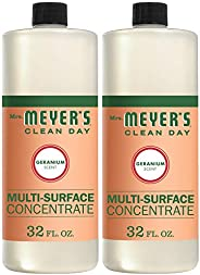 Mrs. Meyer's Clean Day Multi-Surface Cleaner Concentrate, Use to Clean Floors, Tile, Counters, Geranium Sc