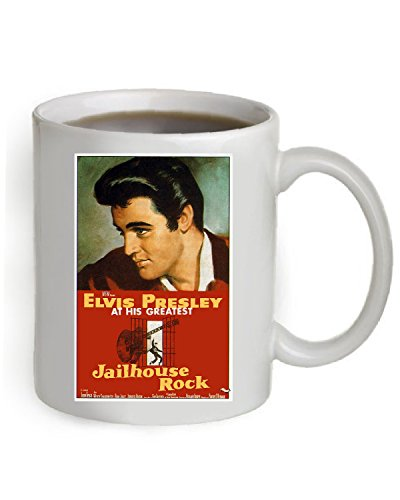- Jailhouse Rock Movie Poster Coffee Mug 11 OZ. (The Poster is printed on both sides of the Mug). #A086