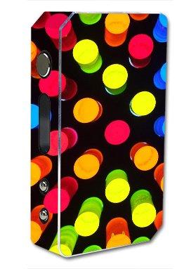 Skin Decal Vinyl Wrap for Pioneer 4 you ipv3 Li 165w watt Vape Mod Box / light lamps