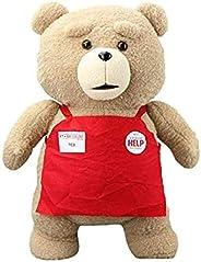 Ted Plush Movie Teddy Bear Ted 2 Plush Doll Toys in Apron Styles Soft Stuffed Animals Plush Toys Animal Dolls