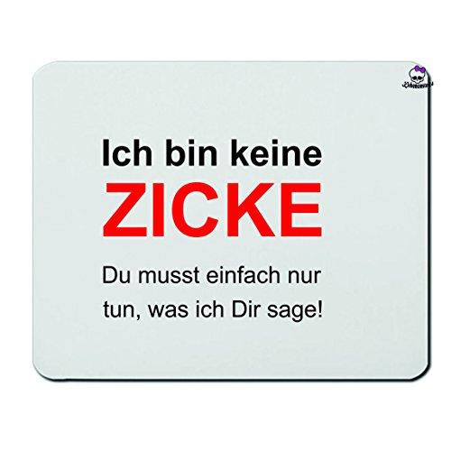 Mousepads Rechteckig 3 Mm Lustig Spruche Spruch Amazon De Elektronik