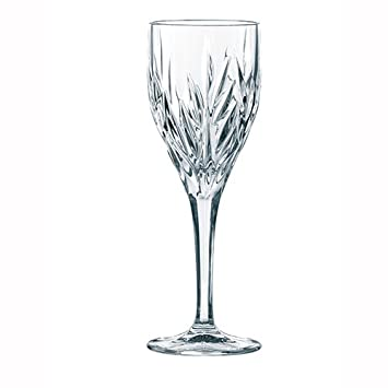 9376882a613 Nachtmann Wine Glasses with Cut Glass Pattern