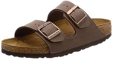 Birkenstock Unisex Arizona Narrow Fit - Mocca 0151183 (Brown) Womens Sandals 39 EU