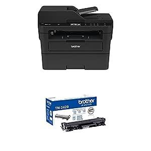 Brother MFCL2750DW - Impresora multifunción láser monocromo con fax y dúplex + Brother TN-2420 Laser cartridge 3000 páginas Negro tóner y cartucho ...