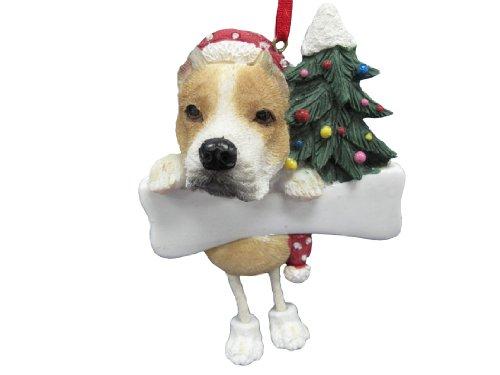 (Pit Bull Ornament with Unique