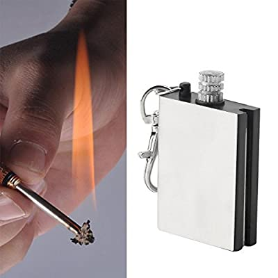 Emergency Fire Starter Flint Match Lighter Metal Outdoor Camping Hiking Instant Survival Tool Safety Durable hot by OEM
