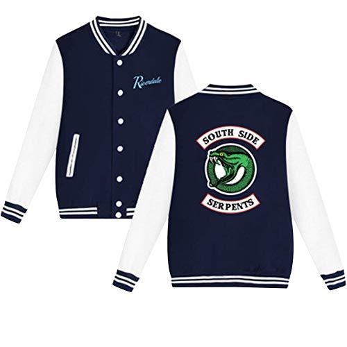 Serpent Side Manteau Cardigan Blazer Riverdale Blouson Baseball Pullover Sweat South 11 Color Top Veste Jacket RFqq5wE