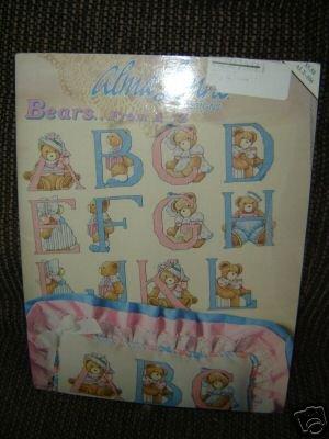 Alma Lynne, Bears From A-Z, Cross Stitch Leaflet ()