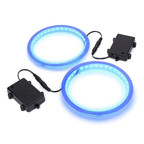 GoSports Cornhole Light Up LED Ring Kit - Blue LEDs - Compatible with All Cornhole Games -