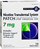 Habitrol Nicotine Transdermal System Patches 7 mg Step 3 - 14 Patches, Pack of 4