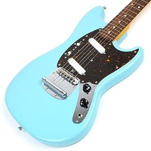 fender japan 69 reissue mustang guitar mg69 electric guitar japan import musical. Black Bedroom Furniture Sets. Home Design Ideas