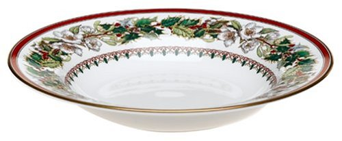 - Spode Christmas Rose 9-Inch Soup Plate