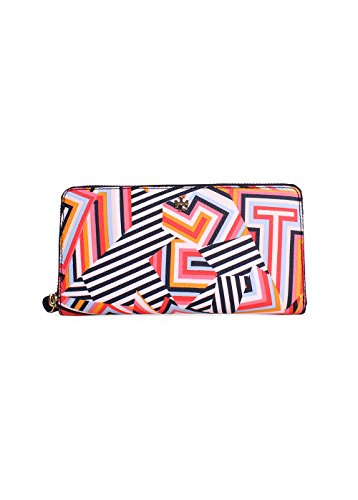 Tory Burch Kerrington Zip Around Continental Wallet Style No. 12169120 (Cut Out T Print) by Tory Burch