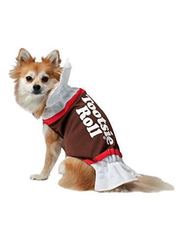 Rasta Imposta Tootsie Roll Dog Costume, Medium for $<!--$15.19-->