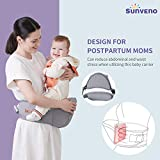 SUNVENO Baby Hipseat Carrier, Ergonomic Hip Seat