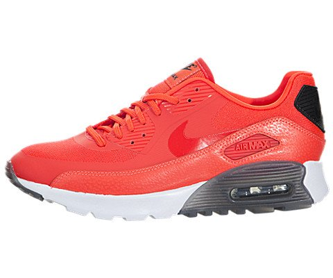 Nike Women's Air Max 90 Ultra Essential Infrared/Infrared/Black/White - All Black Air Max 90