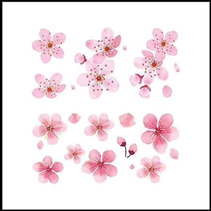 ruofengpuzi Temporal Antiguo Tatuaje De Sakura Tatuaje Ojo ...