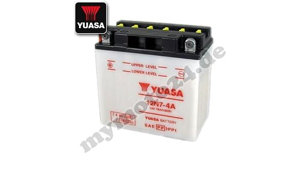 12N7-4A Bater/ía para las motocicletas YUASA