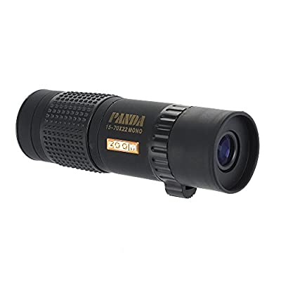 VicTsing Pocket Size Compact 15-70x21 Monocular Telescopes For Birdwatching Watching Wildlife and Scenery Durable and Lightweight - Waterproof and Fogproof from Victsing