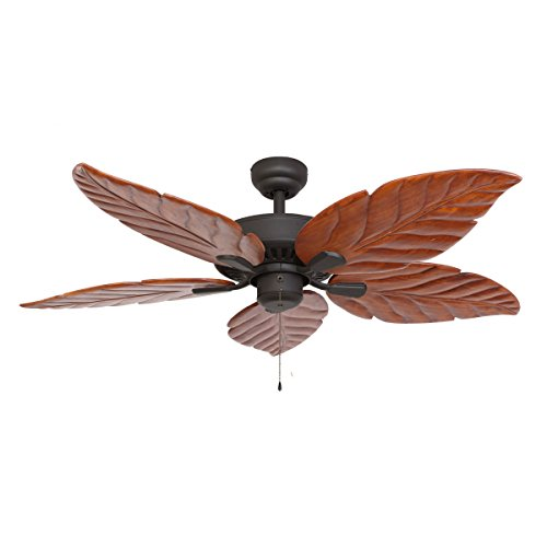 Siam Circus EcoSure Aruba Bronze 52-inch Ceiling Fan by Siam Circus Decor