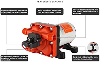 SEAFLO 42-Series Water Pressure Diaphragm Pump w/Variable Flow for Reduced  Cycling - 12V, 3 0GPM, 55PSI