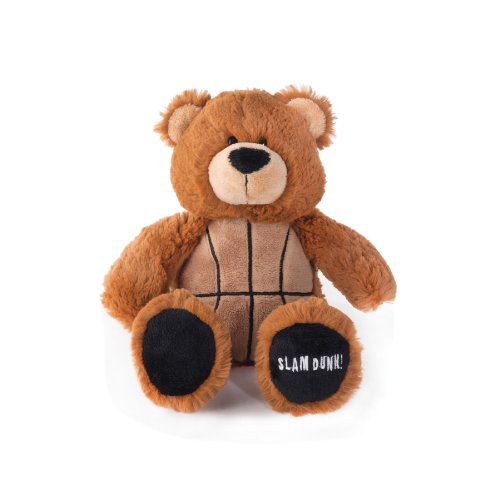 Nat and Jules Game Day Bears Plush Toy, Basketball (Slam Dunk Stuffed Animal)