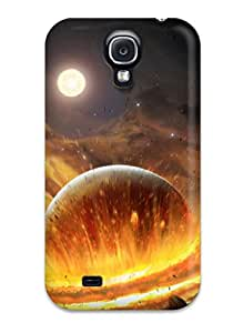 New Style Hard Case Cover For Galaxy S4- Planet Impact 9749072K58526985