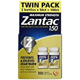 Zantac 150 Maximum Strength Tablets, Original, LIMITED MULTII VALUE OF 120 Count TOTAL