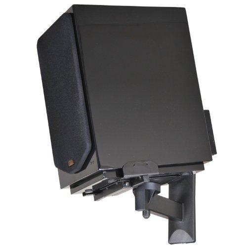 Videosecu Side Clamping Bookshelf Speaker Wall Mount