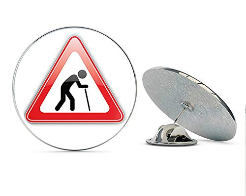 le Sign Art Round Metal Lapel Pins Cute Cool Hat Shirt Pin Tie Tack Pinback ()