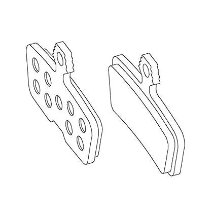Image of Avid Disc pads, 11/12 Code 4-piston - org/alum (20/pr) Brake Pads