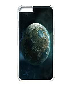 VUTTOO Iphone 6 Case, Planet earth Hard Clear Case Cover Protector for Apple iPhone 6 4.7 Inch