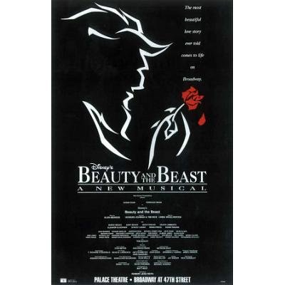 (Beauty and The Beast Poster Broadway Theater Play 11x17 Terrence Mann Susan Egan Burke Moses MasterPoster Print, 11x17)