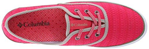 Columbia Femmes Vulc N Vent Dentelle Toile Ii Casual Chaussure Laser Rouge / Mousse Fraîche