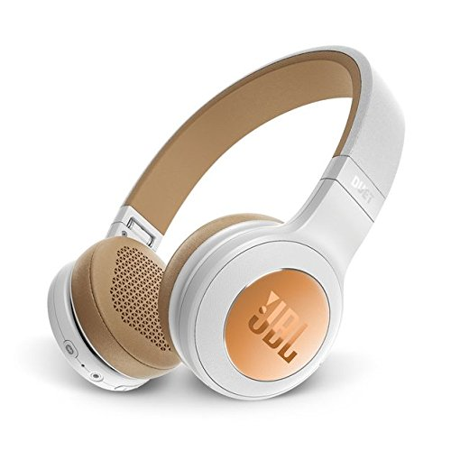 JBL Duet Bluetooth Wireless On-Ear Headphones - Gold