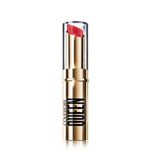 COVERGIRL Queen Stay Luscious Lipstick Jubilee, .12 oz (packaging may vary) Cover Girl Queen Moisturizing Lip