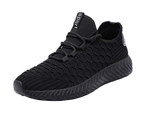 Hayeabi Women's Fashion Sneakers Casual Sport Shoes Walking Shoes All Black