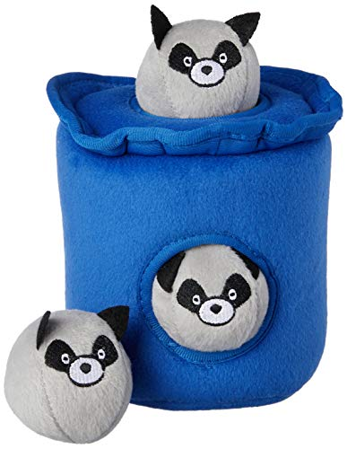 ZippyPaws ZP843 Raccoons Trash Can with Bubble Squeak for sale  Delivered anywhere in USA
