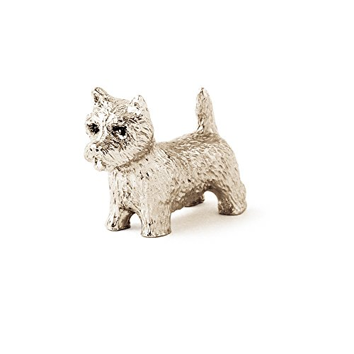 Terrier Antique (West Highland White Terrier (small) Made in UK Artistic Style Dog Figurine Collection)