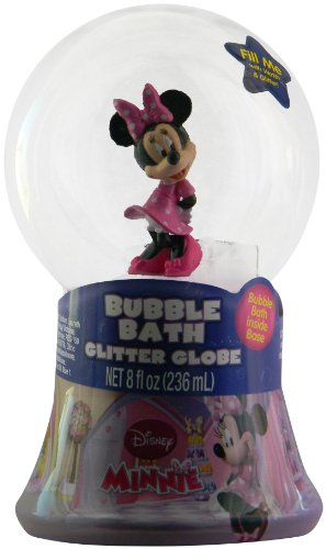 (Disney Minnie Mouse Bubble Bath Glitter Globe by MZB Accessories)