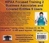Hipaa Focused Training 2 Five Users, Farb, Daniel, 1594911347
