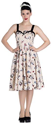 [Hell Bunny Circus 50's Dress (Small)] (Circus Dress)