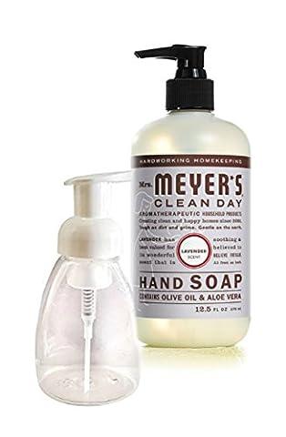 Mrs. Meyer's Clean Day Liquid Hand Soap, Lavender, 12.5 Oz (Meyers Hand Soap Radish)