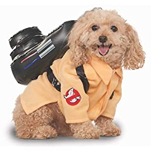 Rubie's Ghostbusters Movie Pet Costume, Medium, Ghostbuster Jumpsuit